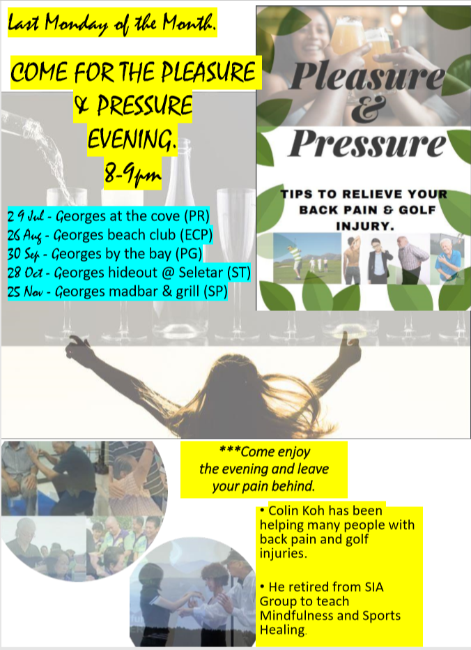 pleasure & pressure