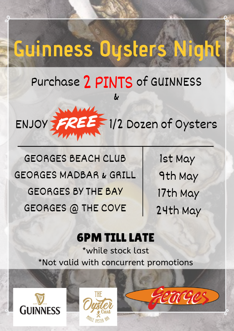 guinness oysters night