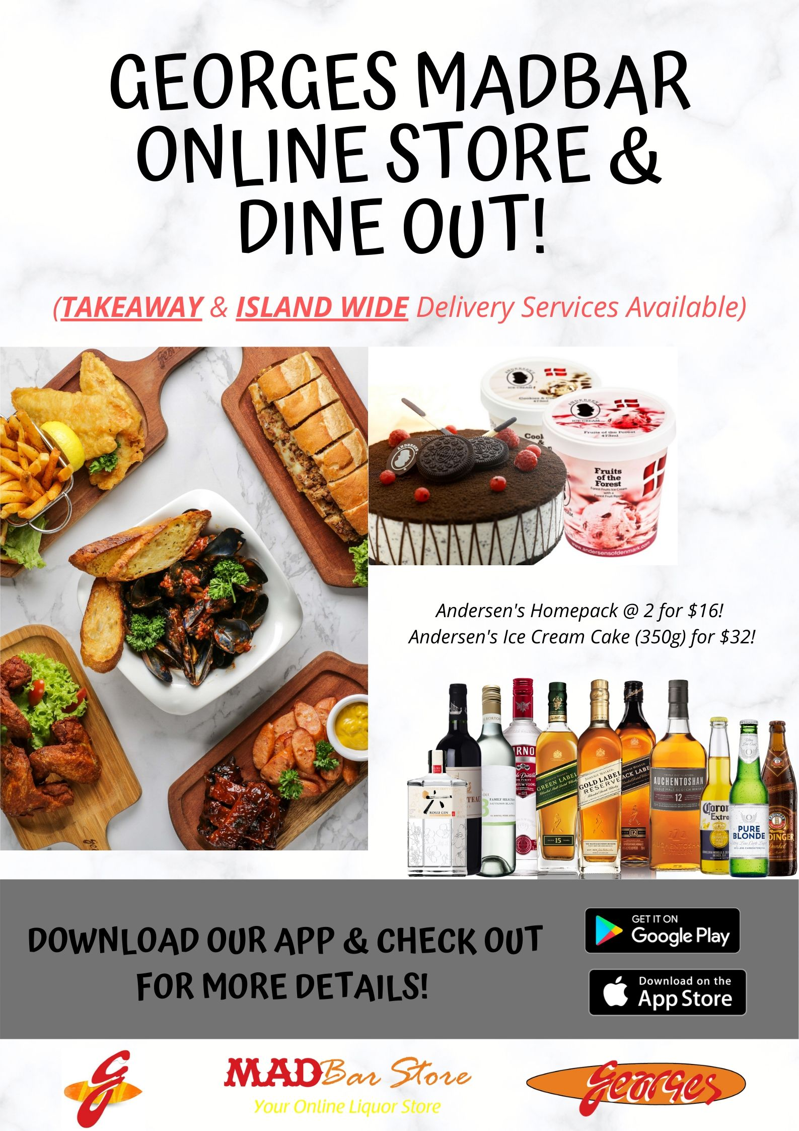 madbar & dine out poster