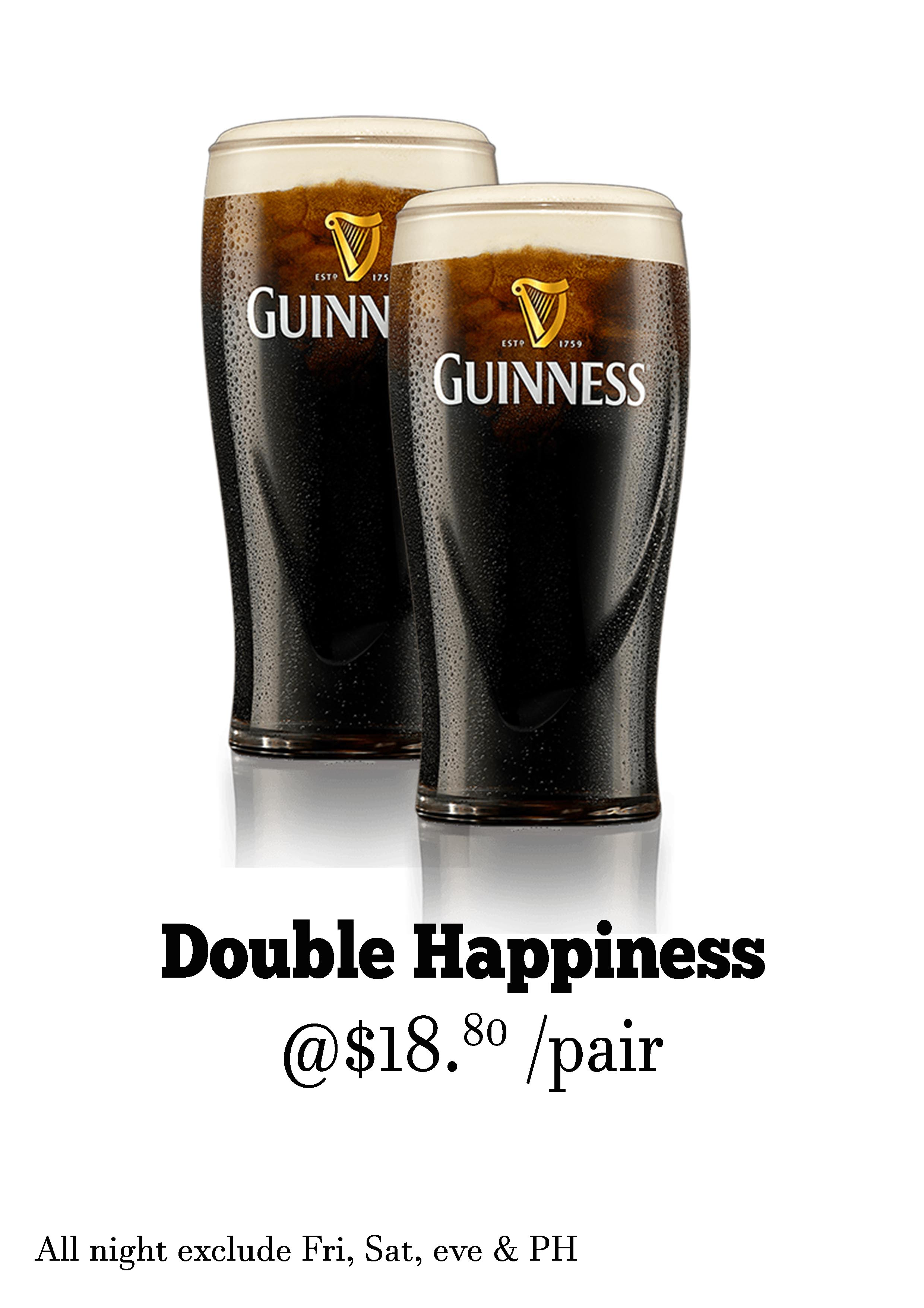 Guinness happiness promo