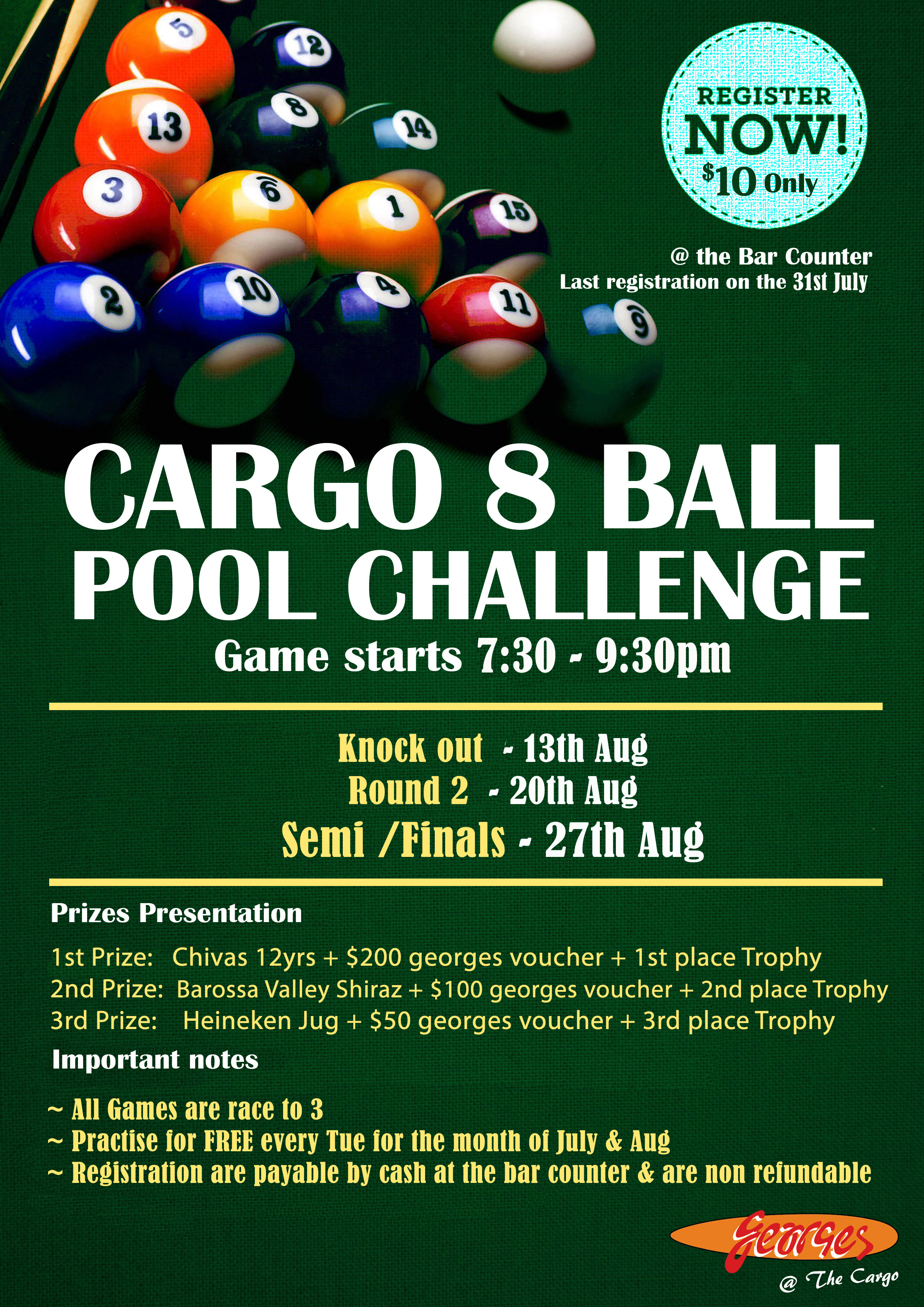 cargo pool competition