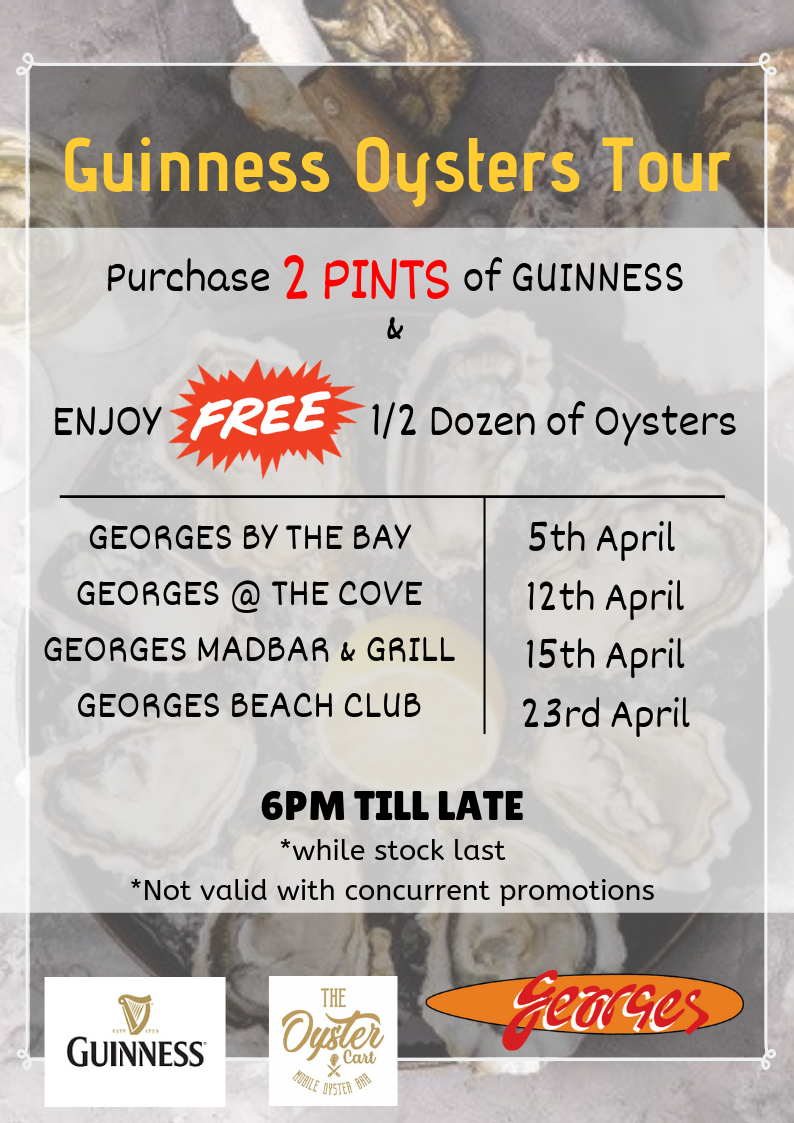Guinness Oysters Nite